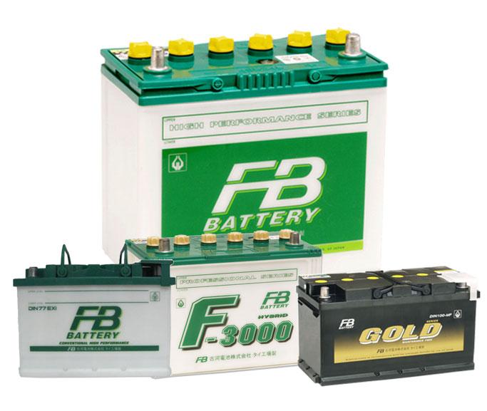 แบตเตอรี่รถยนต์ / Automotive Batteries