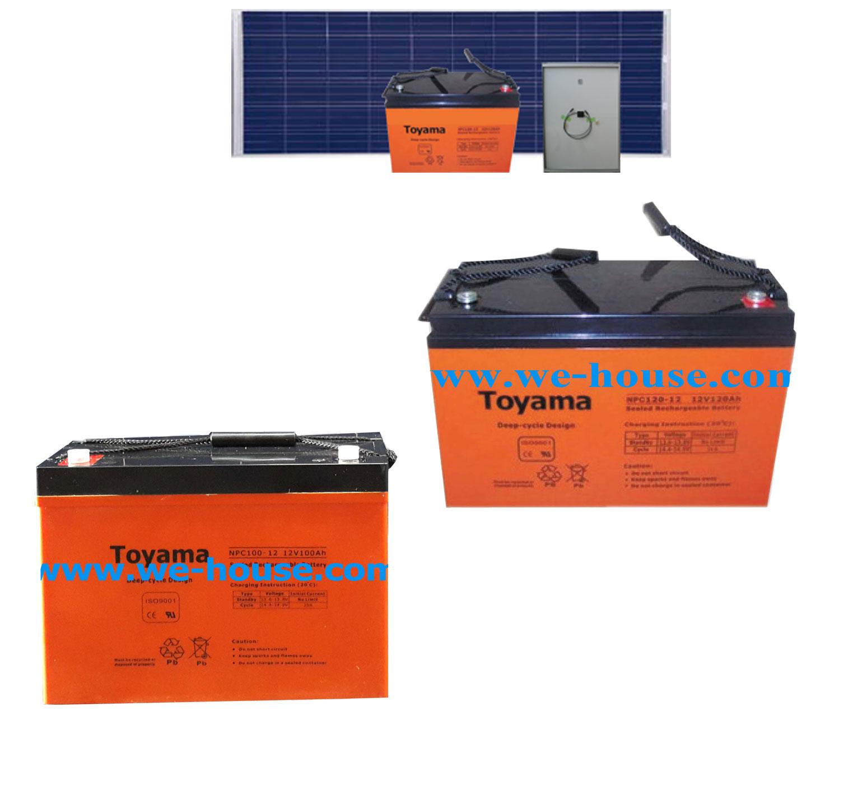 แบตเตอรี่โซล่าเซลล์ Battery Solar Cells