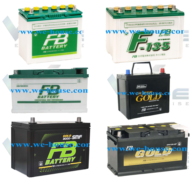 แบตเตอรี่รถยนต์ Automotive Batteries