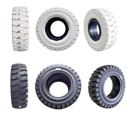 ยางตัน Solid Tyres